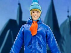 "Scooby-Doo World's Greatest Heroes Fred Jones (Blue Jacket Variant) 8"" Retro Figure"