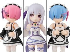 Re:Zero Starting Life in Another World Desktop Army Box of 3 Figures