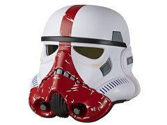Star Wars: The Black Series Incinerator Stormtrooper 1:1 Scale Wearable Helmet (Electronic)