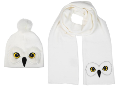 Harry Potter Hedwig Beanie & Scarf Set