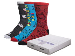 Nintendo SNES Console Crew Socks Three-Pack