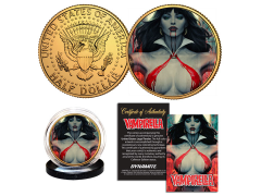 Vampirella Collectible Gold Plated Coin (Artgerm)