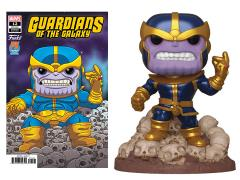 Pop! Marvel: Deluxe Thanos (Snapping) PX Previews Limited Edition Exclusive (With Comic)