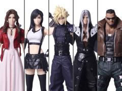 Final Fantasy VII Remake Trading Arts Box of 5 Figures