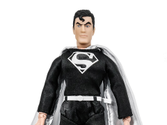 DC World's Greatest Heroes Superman (New Head Sculpt Black Suit Variant) Retro Figure