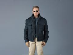 Men's Blue Jacket 1/6 Scale Accessory Set