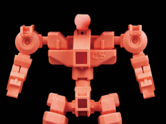 Gundam SD Cross Silhouette Frame (Red) Model Kit
