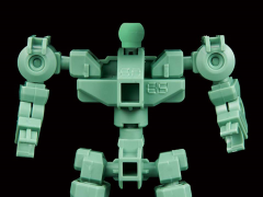 Gundam SD Cross Silhouette Frame (Green) Model Kit