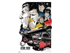 Star Trek 50th Anniversary To Boldly Go Art Print