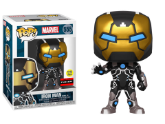 Pop! Marvel: 80th Anniversary - Iron Man Model 39 (Glow-in-the-Dark) Exclusive