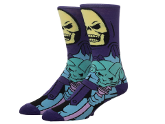 Masters of the Universe Skeletor Crew Socks