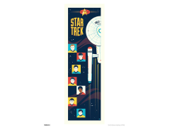 Star Trek 50th Anniversary Strange New Worlds Art Print
