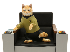 Star Trek: The Original Series Captain Kirk Cat Limited Edition Statue