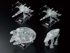 Star Wars: The Last Jedi Clear Vehicle Model Set