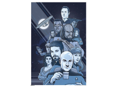 Star Trek 50th Anniversary Boldly Going Art Print