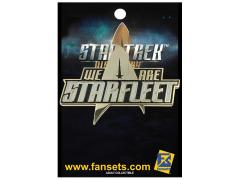 Star Trek: Discovery We are Starfleet Pin