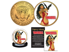 Vampirella Collectible Gold Plated Coin (Bat)