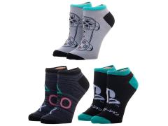 Playstation Ankle Socks Three-Pack
