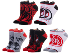 Marvel Spider-Man Ankle Socks Five-Pack