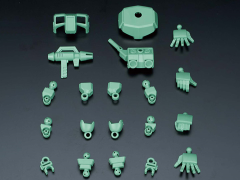 Gundam SD Cross Silhouette Booster (Green) Model Kit