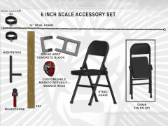 Legends of Lucha Libre Lucha Extrema Accessory Pack