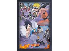 Naruto Shippuden Cast Framed Art Print