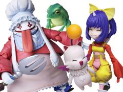 Final Fantasy IX Bring Arts Eiko Carol & Quina Quen Two-Pack