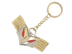 My Hero Academia All Might Belt Buckle Keychain