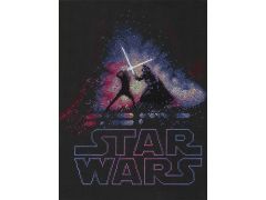 Star Wars Luke Skywalker vs. Darth Vader X-Stitch Kit