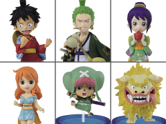 One Piece World Collectable Figure Wano Country Box of 6 Figures