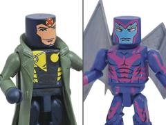 Marvel Minimates Archangel & Multiple Man (Jamie Madrox) Two-Pack