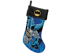 Batman Printed Stocking with Black Cuff and Logo