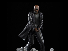 Spider-Man: Far From Home Battle Diorama Series Nick Fury 1/10 Art Scale Limited Edition Statue