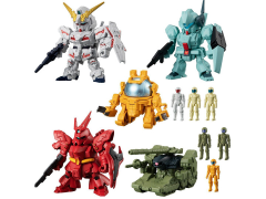 Mobile Suit Gundam Micro Wars 4 Box of 10 Figures