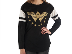 DC Comics Wonder Woman Football T-Shirt