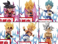 Dragon Ball Super World Collectable Figure -Plus Effect- Box of 6 Figures
