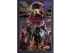 JoJo's Bizarre Adventure Group Shot Framed Art Print