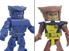 Marvel Minimates Beast & Wolfsbane Two-Pack