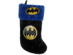 Batman Logo Plush Applique Stocking