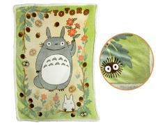 My Neighbor Totoro Sunny Forest Large Plush Blanket