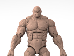 Titan Body (Caucasian Skin Tone) 1/12 Scale Action Figure Blank