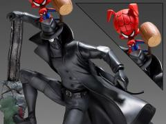 Spider-Man: Into the Spider-Verse Battle Diorama Series Noir & Spider-Ham 1/10 Art Scale Limited Edition Statue