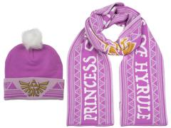 The Legend of Zelda Princess of Hyrule Beanie & Scarf Set