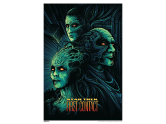 Star Trek 50th Anniversary First Contact Art Print