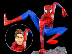 Spider-Man: Into the Spider-Verse Battle Diorama Series Peter B. Parker 1/10 Art Scale Limited Edition Statue