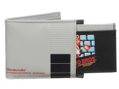 Nintendo 2-in-1 Bi-Fold Wallet & Super Mario Bros. Cartridge Card Holder
