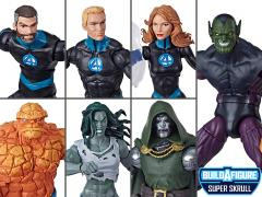 Fantastic Four Marvel Legends Wave 1 Set of 6 Figures (Super Skrull BAF)