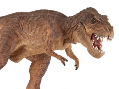 Running T-Rex (Brown) Figure