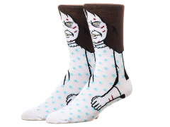 The Exorcist Regan MacNeil Crew Socks