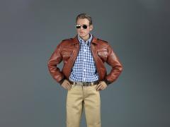 Men's Leather Jacket 1/6 Scale Accessory Set